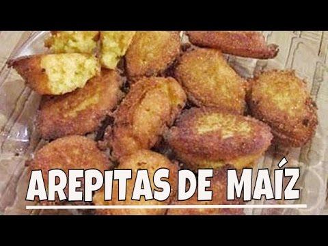 Como preparar Arepitas de Maíz [Comida Dominicana]