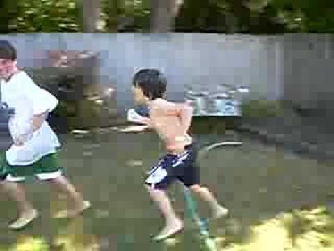 justin bieber water balloon fight. Water Balloon Massacre. Water Balloon Massacre