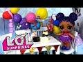 Мама в шоке! На день рождение куклы лол сюрприз никто не пришел! Мультик с игрушками LOL dolls
