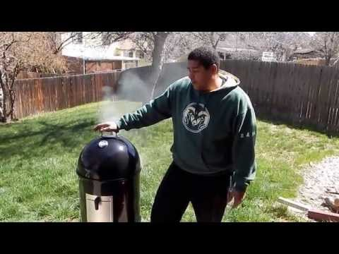 Weber Smokey Mountain Review & How To   WSM Smoker