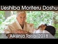 Moriteru Ueshiba Doshu Demonstration d'Aikido - Aiki Jinja Taisai 2018
