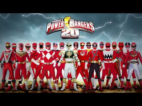 Power Rangers Morph Through 20 Years!