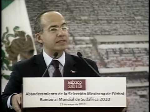 Abanderamiento de la Selección Mexicana de Fútbol Video
