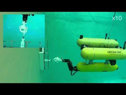 Free-Floating Autonomous Underwater Manipulation: Connector Plug/Unplug