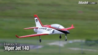Harlock RC Viper Jet 140 - Model Aviation magazine