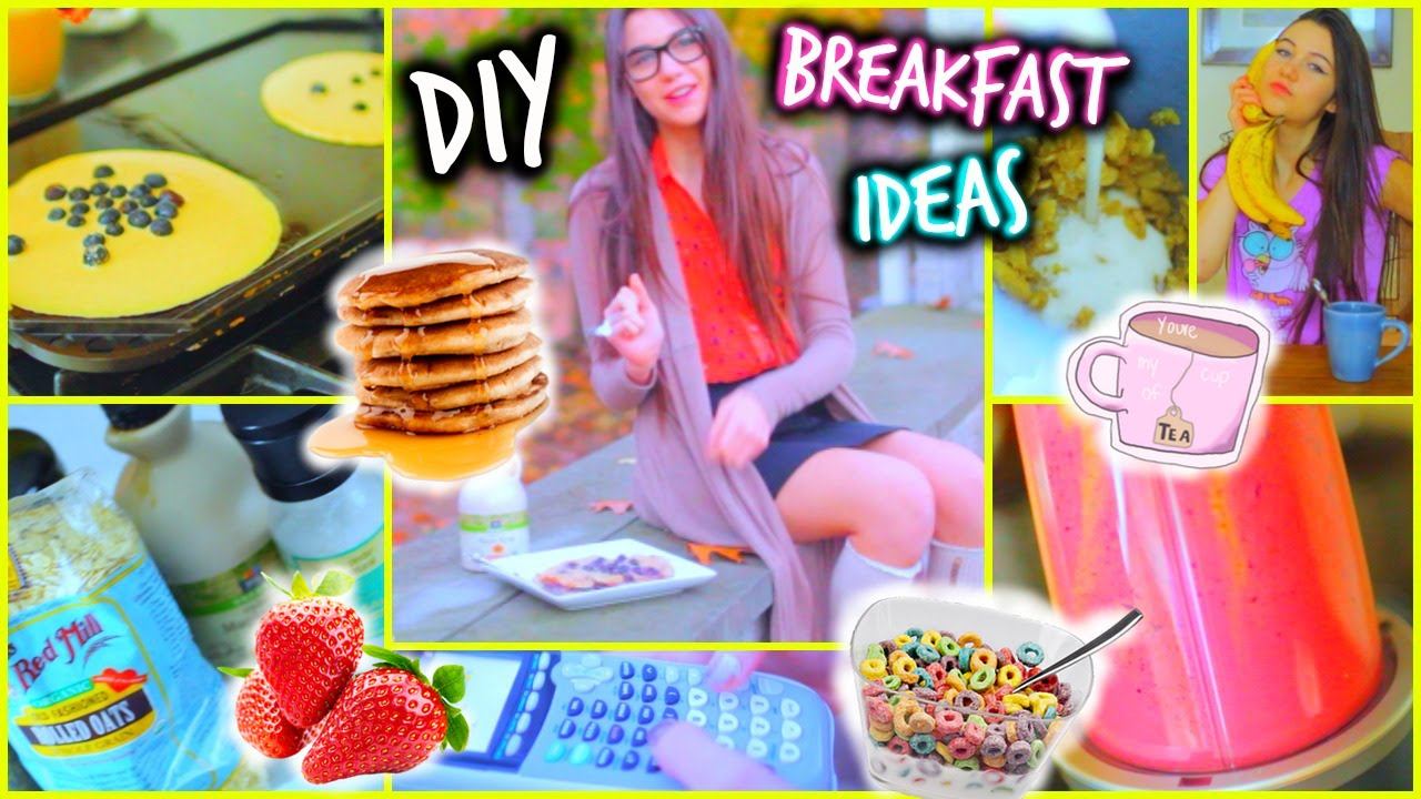 Breakfast ideas diy healthy quick easy and fast for school youtube - Simple diy ideas that could work for your home ...