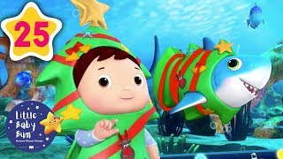 Christmas Songs for Kids | Christmas Carols | Christmas Shark | Little Baby Bum