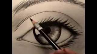 Resim Dersi - Gerçek Göz Nasıl Çizilir
