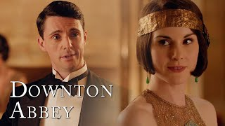 Henry Confesses His Love For Mary | Downton Abbey