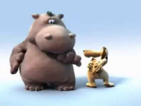 Birthday Greetings - Hippo & Dog video