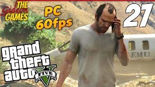 Прохождение GTA 5 с Русской озвучкой (Grand Theft Auto V)[PС|60fps] - Часть 27 (Красная кнопка)