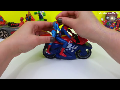 Spiderman Play Doh Surprise Egg Marvel Amazing Toys
