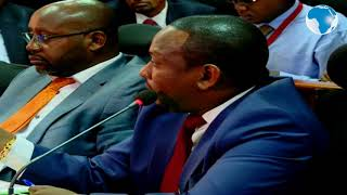 Sonko put to task by Senate Committee over error-ridden posters