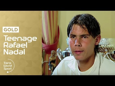 16-Year-Old Rafael Nadal on Trans World Sport - best ever tennis player?