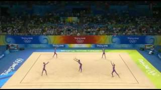 Ukraine 5 ropes 2008 olympic games Beijing Q