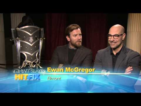 Jack The Giant Slayer - Ewan McGregor & Stanley Tucci Interview