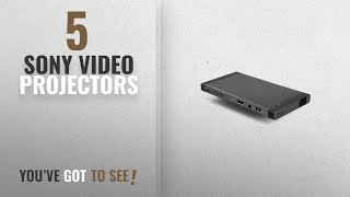Top 10 Sony Video Projectors [2018]: Sony Portable HD Mobile Projector, Bluetooth, Wi-Fi or HDMI