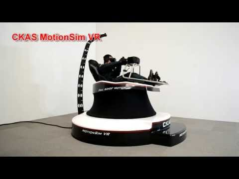 CKAS MotionSim VR Simulator for entertainment or training