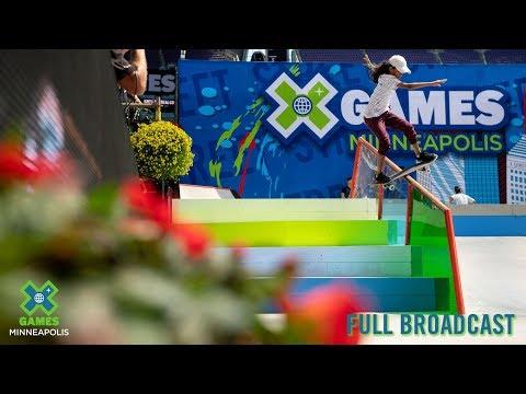 REPLAY: Women's Skateboard Street Elimination | X Games Minneapolis 2019