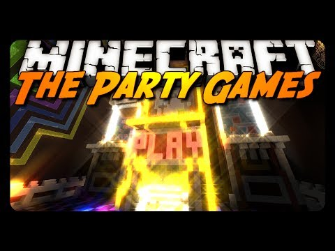 Minecraft - THE PARTY GAMES! (Server Mini-Game)