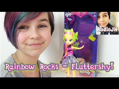 My Little Pony - MLP EG Rainbow Rocks - Fluttershy Review!