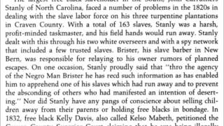 Largest African American Slave Owner