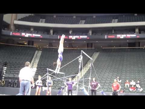 Anna Li - 2011 Visa Championships Podium Training - Uneven Bars