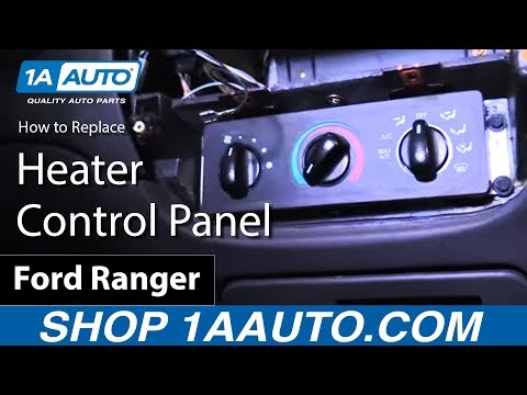 How to Install Replace Heater Control Panel 2001 Ford Ranger BUY QUALITY AUTO PARTS AT 1AAUTO.COM
