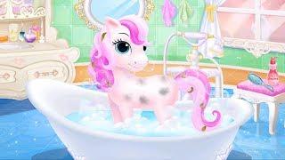 Công Chúa Libby Vệ Sinh Trang Trí Phòng, Tắm, Chọn Trang Phục Cho Ngựa Pony – Game Vui Cho Bé