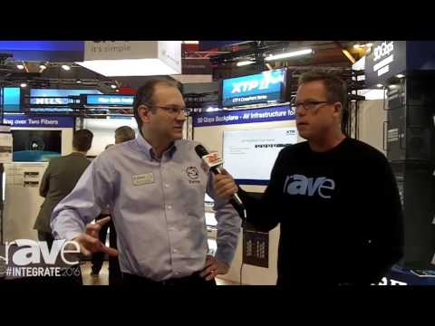 Integrate 2016: Gary Kayye Interviews Eric Trombley of Extron