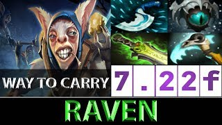Raven [Meepo] SEA Ranked The Best Way To Carry ► Dota 2 7.22f