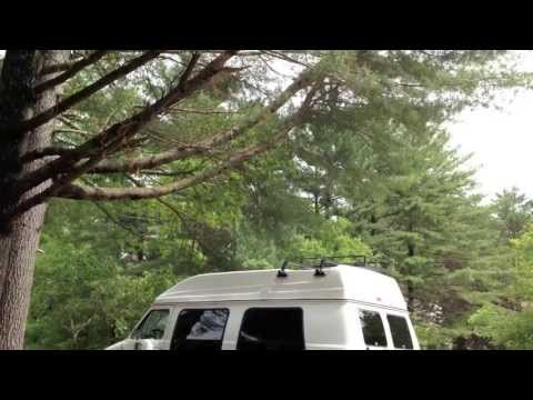 DIY Camper Van Walk Through