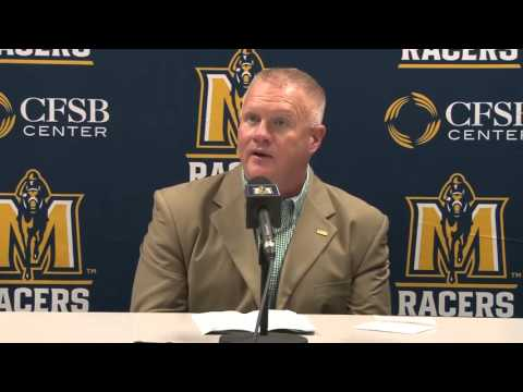 Rob Cross Post Game Press Conference Central Arkansas @ Murray State 2015