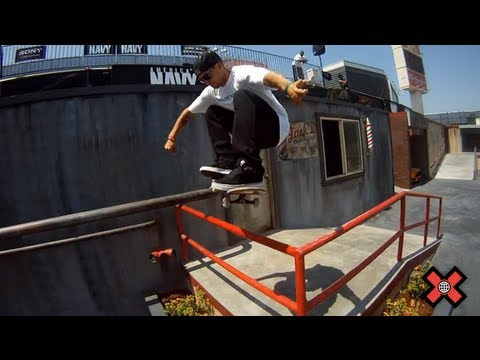 Ryan Sheckler Skateboard Street Flashback - X Games 17
