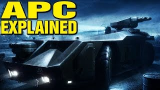 APC EXPLAINED M577 ARMORED PERSONNEL CARRIER ALIENS COLONIAL MARINES