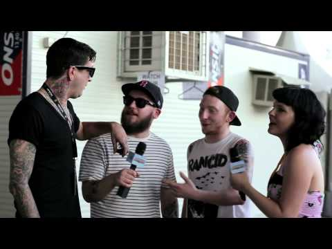 Backstage at Soundwave Brisbane: Soundwave TV 2013