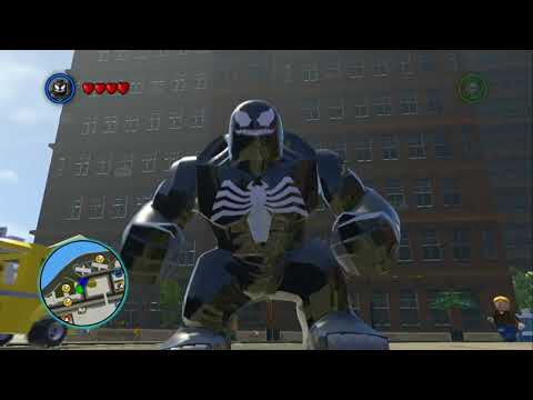 LEGO Marvel Super Heroes - Venom Free Roam Gameplay