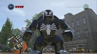 LEGO Marvel Super Heroes - Venom Free Roam Gameplay