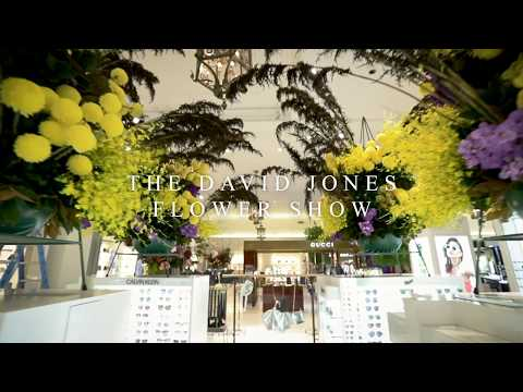 The David Jones Flower Show 2018
