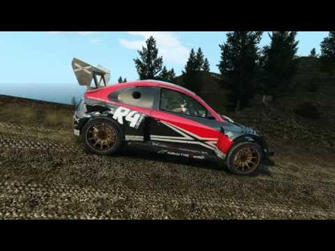 Colin McRae Hella Rallycross