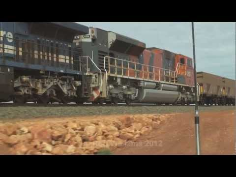 Pacing big power  : A must see :  Australian trains and railroads