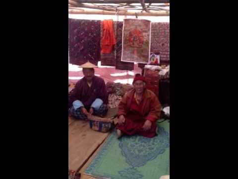 Larry post in Gangtey Bhutan