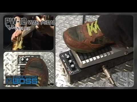 PW-10 V-Wah [BOSS Sound Check]