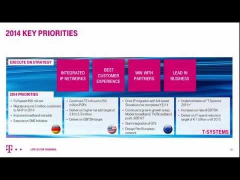 Deutsche Telekom's Q1-2014 investor conference call.