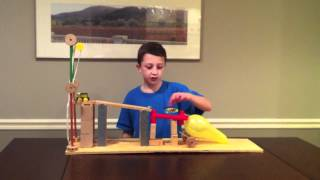 Six Simple Machine Project Using All Six Machines - Rube Goldberg