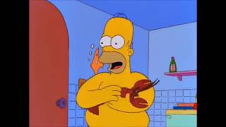Homer Buys a Pet Lobster - The Simpsons