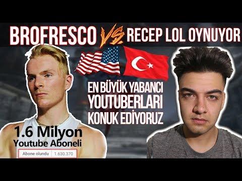 Amerikalı Ünlü youtuber vs Recep LoL oynuyor. Böyle vs Tarihte yok!