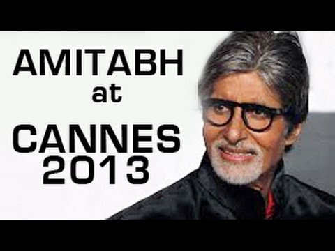 Watch Amitabh Bachchan's Cannes 2013 opening speech in Hindi