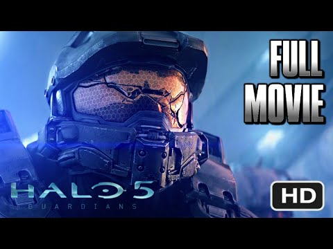 HALO 5 GUARDIANS FULL MOVIE [HD] - All Cutscenes / Cinematics [60fps]