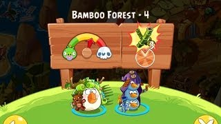 Angry birds epic прохождение бамбуковый лес